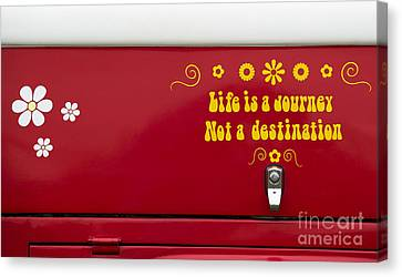 Life Is A Journey Canvas Print by Tim Gainey