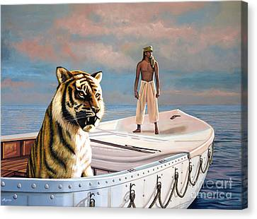 Life Of Pi Canvas Print by Paul Meijering