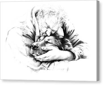 Life Together Canvas Print by Natasha Denger