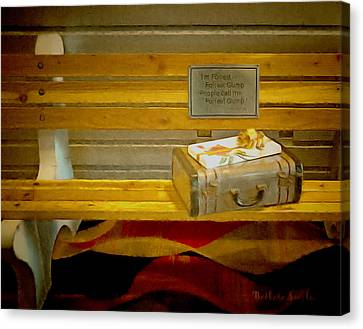 Life Was Like A Box Of Chocolates Canvas Print by Barbara Snyder