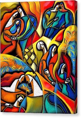 Lifestyle Canvas Print by Leon Zernitsky