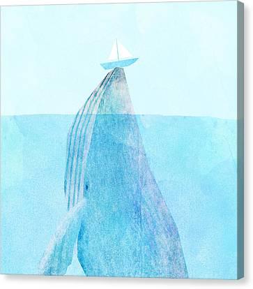 Lift Canvas Print by Eric Fan