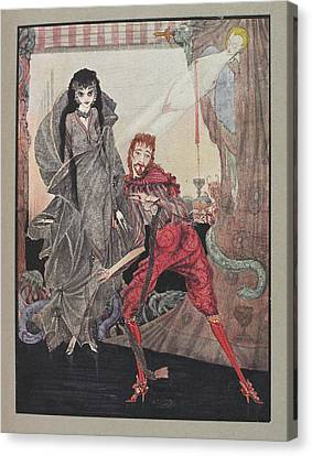 Ligeia Canvas Print by British Library