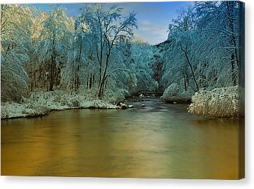 Light After The Storm Canvas Print by Thomas Schoeller