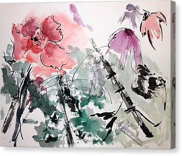 Light And Easy Canvas Print by Mary Spyridon Thompson