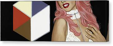 Light Box Canvas Print by Marcella Lassen