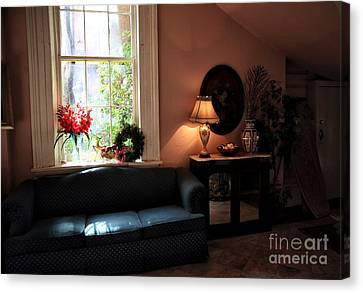 Light By The Window Canvas Print by John Rizzuto