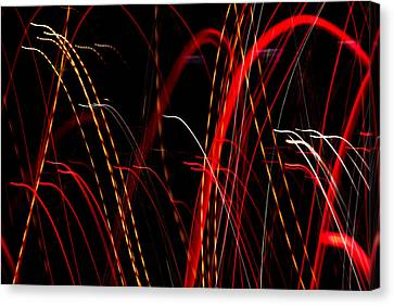 Light Fantastic 08 Canvas Print by Natalie Kinnear