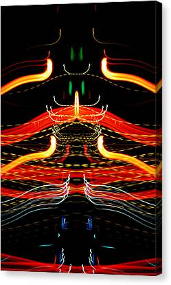 Light Fantastic 39 Canvas Print by Natalie Kinnear