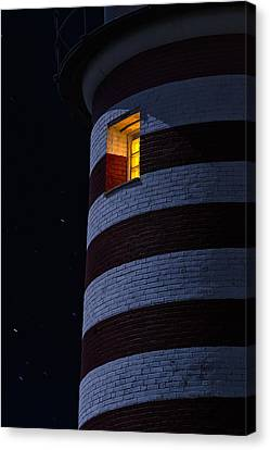 Down East Canvas Print featuring the photograph Light From Within by Marty Saccone