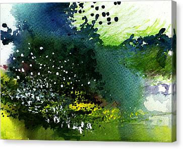 Light Music Canvas Print by Anil Nene