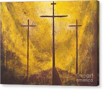 Light Of Salvation Canvas Print by Wayne Cantrell