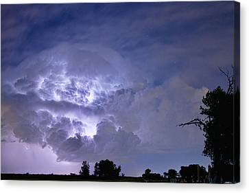 Light Show Canvas Print by James BO  Insogna