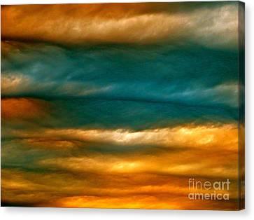 Light Upon Darkness Canvas Print by Joy Hardee