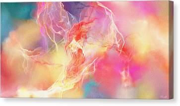 Lighthearted - Abstract Art Canvas Print by Jaison Cianelli
