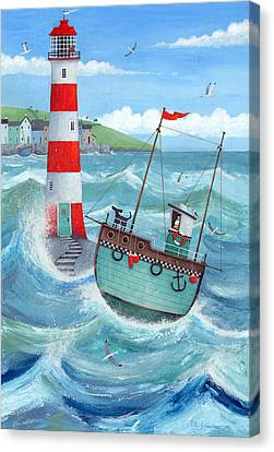 Lighthouse Canvas Print by Peter Adderley