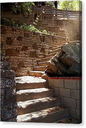Lighting The Way Up Canvas Print by Glenn McCarthy Art and Photography