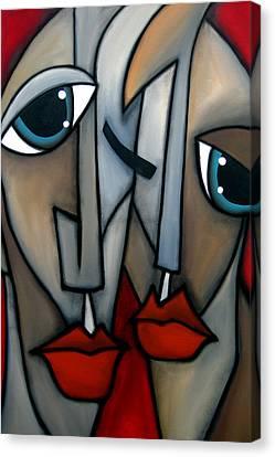 Like Minded By Fidostudio Canvas Print by Tom Fedro - Fidostudio