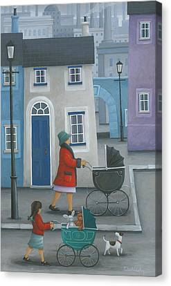 Like Mother Like Daughter Canvas Print by Peter Adderley