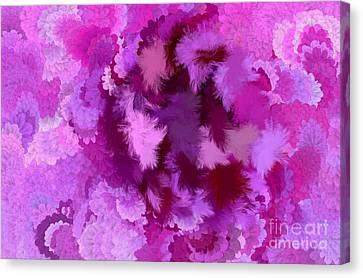Lilac Of The Valley Canvas Print by Holley Jacobs