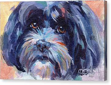 Lilli All Growed Up Canvas Print by Kimberly Santini