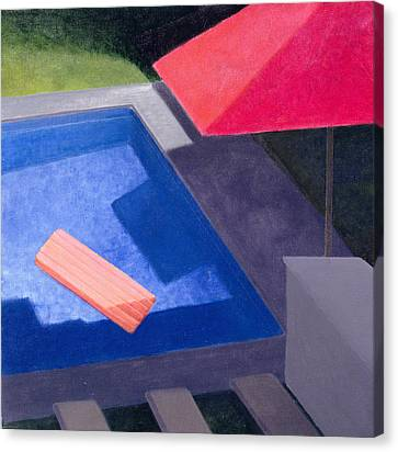 Lilo, 2004 Acrylic On Canvas Canvas Print by Lincoln Seligman