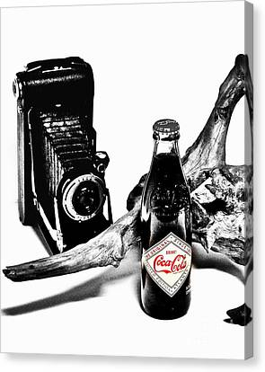Limited Edition Coke - No.008 Canvas Print by Joe Finney