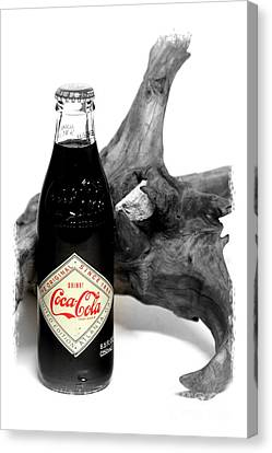 Limited Edition Coke - No.438 Canvas Print by Joe Finney
