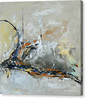 Limitless 1 - Abstract Painting Canvas Print by Ismeta Gruenwald