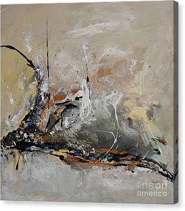 Limitless - Abstract Painting Canvas Print by Ismeta Gruenwald