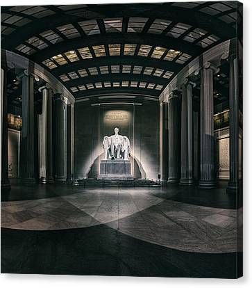 Lincoln Memorial Canvas Print by Eduard Moldoveanu