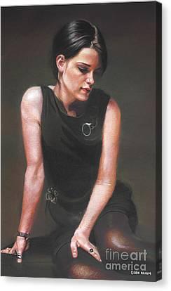 Linda Canvas Print by Oren Nahum