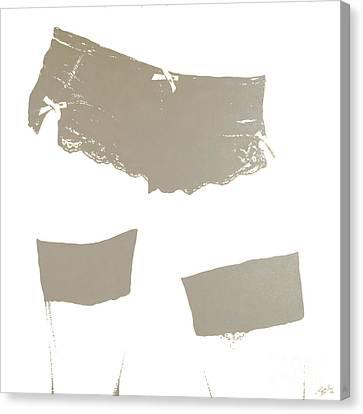 Lingerie Iv Canvas Print by John Silver