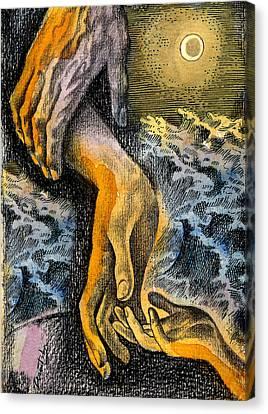 Link Canvas Print by Leon Zernitsky