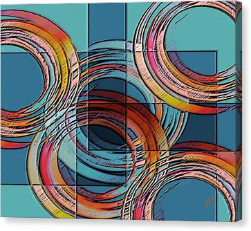 Links Canvas Print by Ben and Raisa Gertsberg