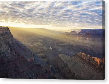 Lipon Point Sunset - Grand Canyon National Park - Arizona Canvas Print by Brian Harig