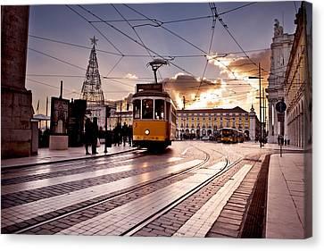 Lisbon Light Canvas Print by Jorge Maia