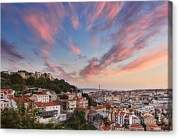 Lisbon Canvas Print by Rod McLean