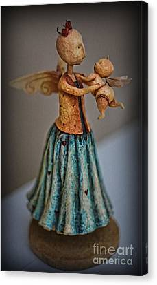 Little Angel  Canvas Print by Lee Dos Santos