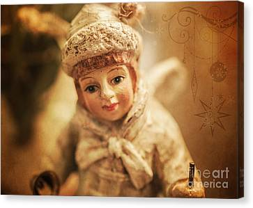 Little Angel Canvas Print by Terry Rowe