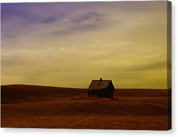 Little House On The Prairie  Canvas Print by Jeff Swan