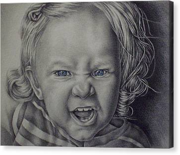 Little Lioness Canvas Print by Lisa Marie Szkolnik