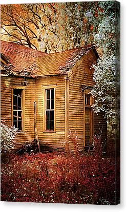 Little Old School House II Canvas Print by Julie Dant