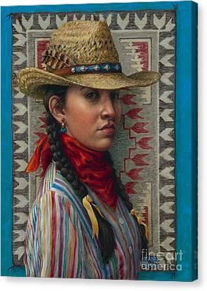 Little Rising Hawk Canvas Print by Jane Bucci