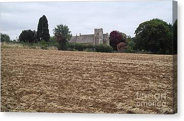 Little Rissington Church 2 Canvas Print by John Williams