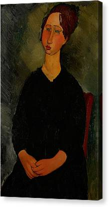 Little Servant Girl Canvas Print by Amedeo Modigliani