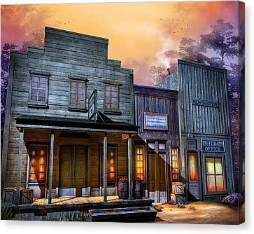 Little Town Canvas Print by Joel Payne