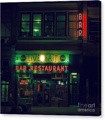 Live Bait Canvas Print by Andrew Paranavitana