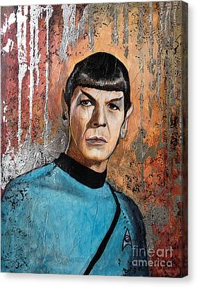 Live Long And Prosper Canvas Print by Dori Hartley