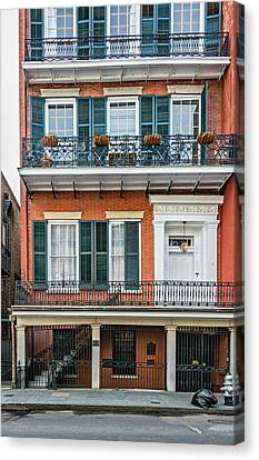 Living High In The French Quarter Canvas Print by Steve Harrington